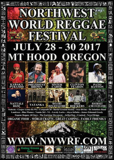 NW World Reggae Festival 2017