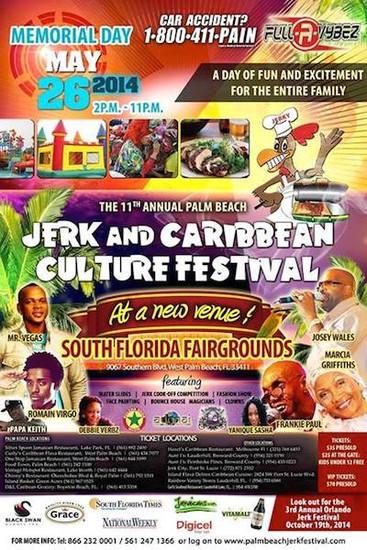 Jerk & Caribbean Culture Festival 2014