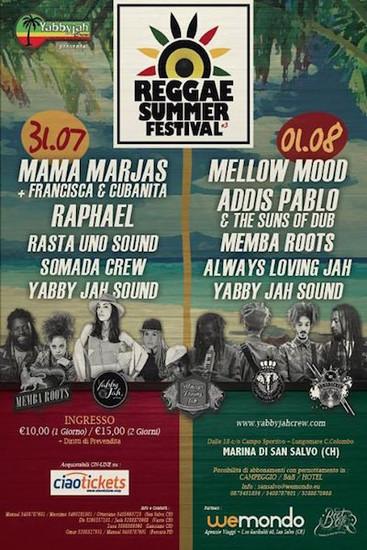 Reggae Summer Festival 2015