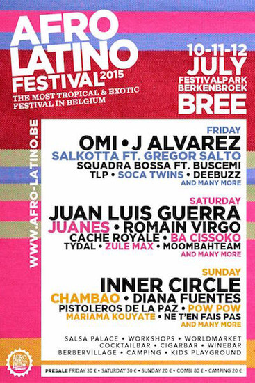 Afro Latino Festival 2015
