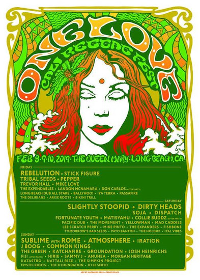One Love Cali Reggae Fest 2019