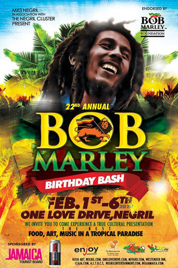 Bob Marley Birthday Bash 2014