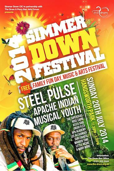 Simmer Down Festival 2014