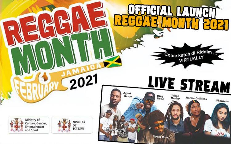 Reggae Month 2021 - Virtual Launch Live Stream