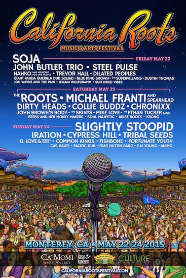 California Roots Festival 2015