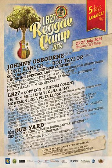 Reggae Camp 2014