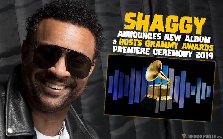 New Shaggy Album 'Wah Gwaan?!' - Hosts Grammy AwardsPremiere Ceremony 2019