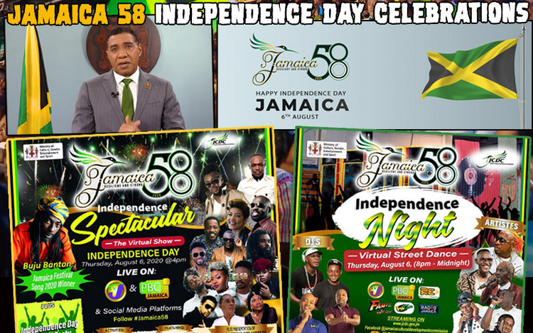 Jamaica 58 Independence Day Celebrations 2020