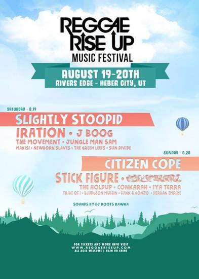 Reggae Rise Up Utah 2017