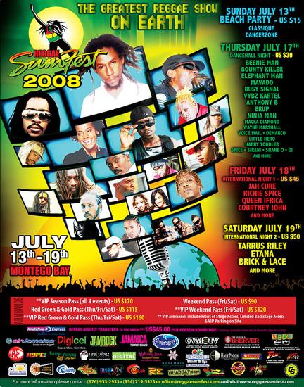 Reggae Sumfest 2008