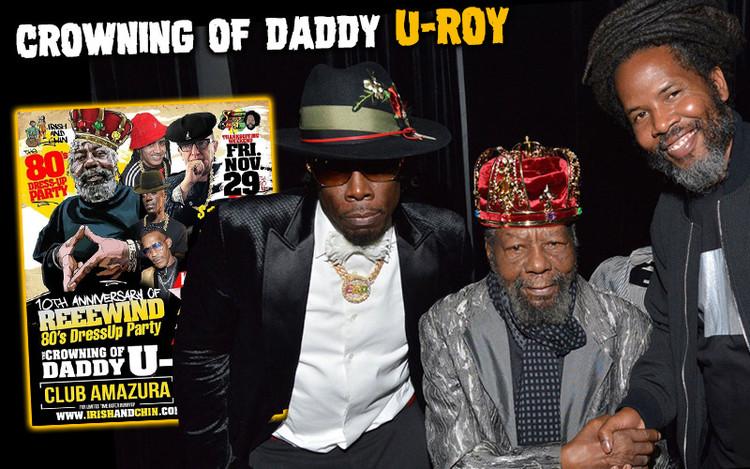 Shabba Ranks Crowns U-Roy King in Queens @Reeewind 2019