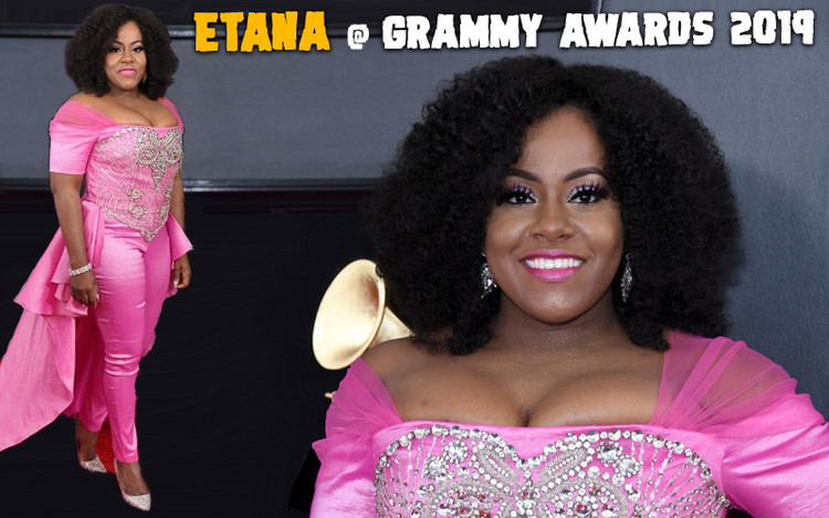 Etana's Grammy Appearance - A Hit With The Press