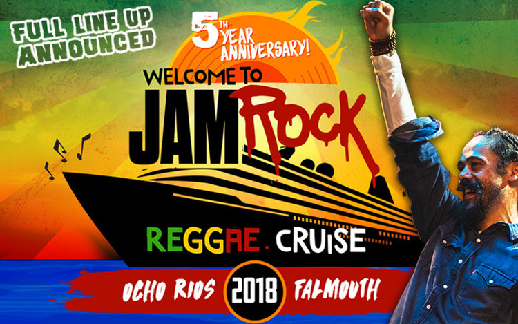 Welcome To Jamrock Reggae Cruise 2018 - Full Line Up