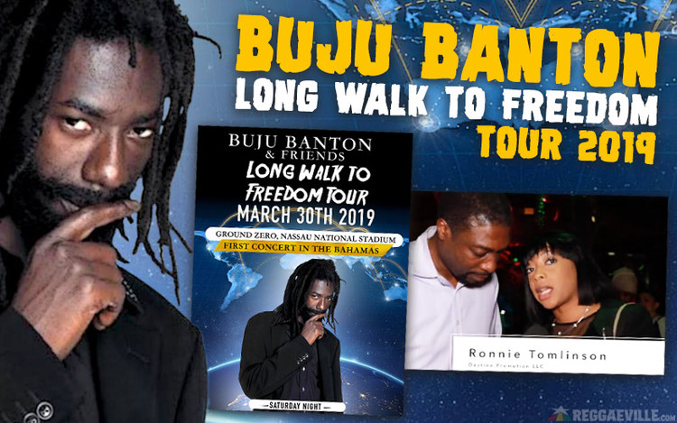 Buju Banton's Return - Long Walk To Freedom Tour 2019
