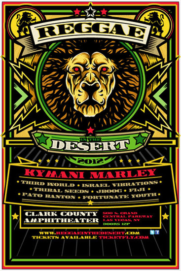 Reggae In The Desert 2012