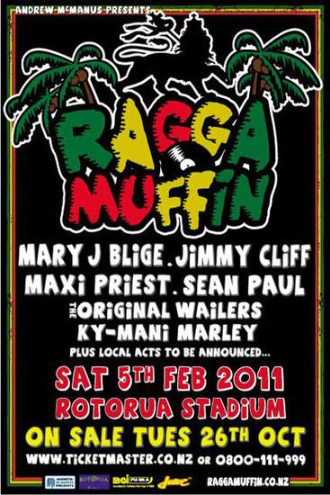 Raggamuffin Festival 2011