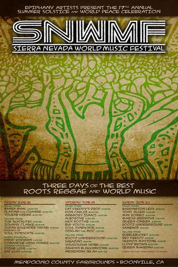 Sierra Nevada World Music Festival 2010