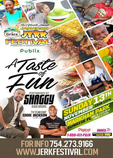 Jamaican Jerk Festival 2016 - A Taste Of Fun