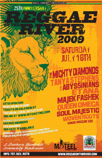 Reggae on the River 2009