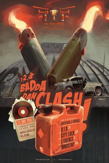 1-2-3 Badda Dan Clash 2014