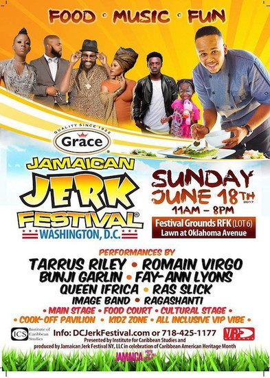 Jamaican Jerk Festival - Washington 2017