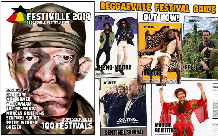 Festiville 2019 - Reggaeville Festival Guide Out Now