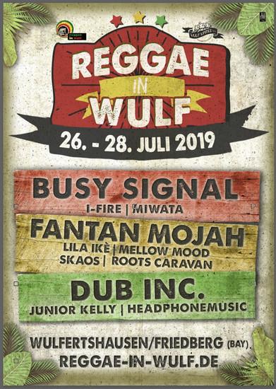 Reggae In Wulf 2019