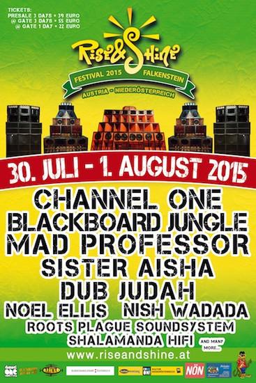 Rise & Shine Festival 2015