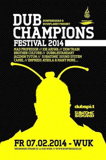 Dub Champions Festival 2014