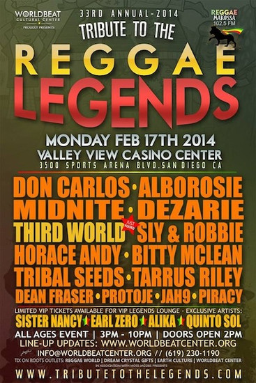 Tribute To The Legends 2014