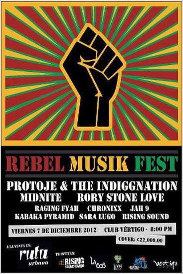 Rebel Musik Fest 2012