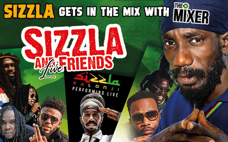 Sizzla Gets in The Mix with The Mixer