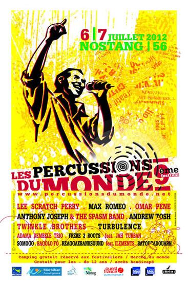 Percussions Du Monde 2012
