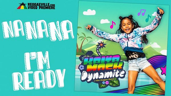 Kaiya Mack - Dynamite |JVibe Reggae Remix (Lyric Video)