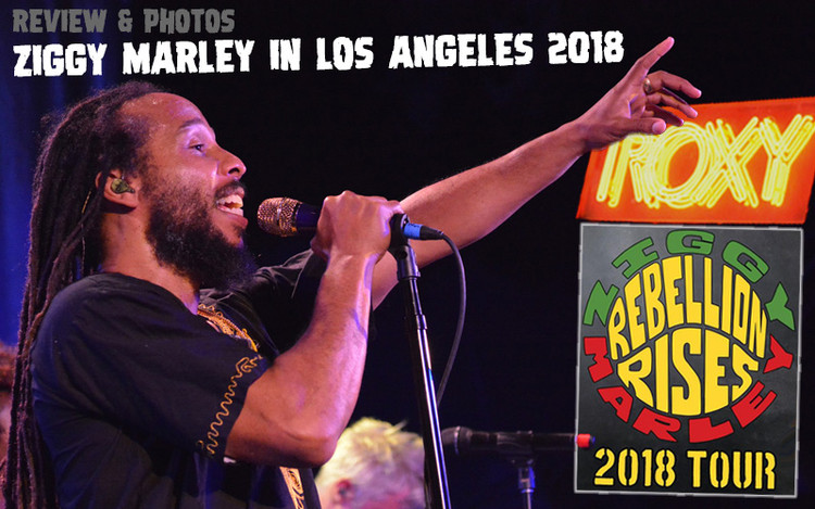 Review & Photos: Ziggy Marley in Los Angeles, CA @ Roxy - August 10, 2018