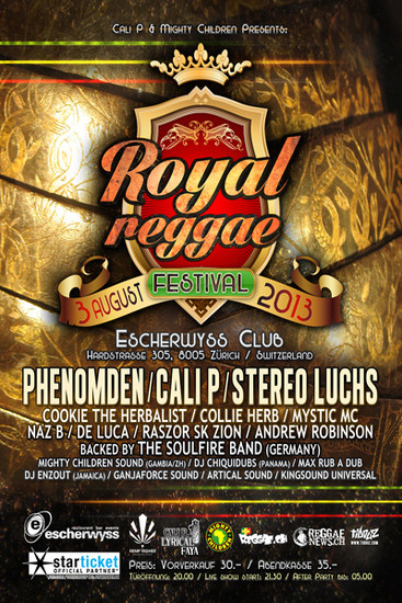Royal Reggae Festival 2013