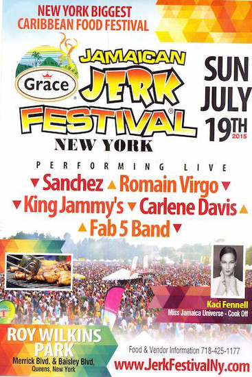 Jamaican Jerk Festival 2015 - New York