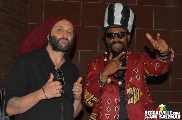 Mykal Rose with Sly Dunbar & Lloyd Parks, Reggae Angels