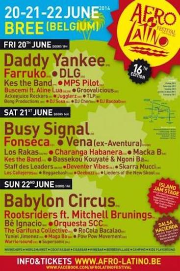 Afro Latino Festival 2014