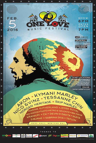 One Love Music Festival 2016