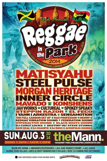 Reggae In The Park 2014