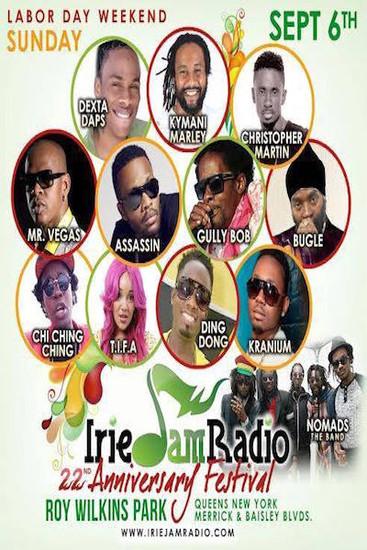 Irie Jam Radio Anniversary Festival 2015