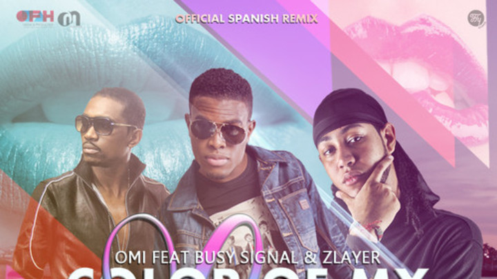OMI feat. Busy Signal & Zlayer - Color Of My Lips (Spanish Remix) [10/6/2014]
