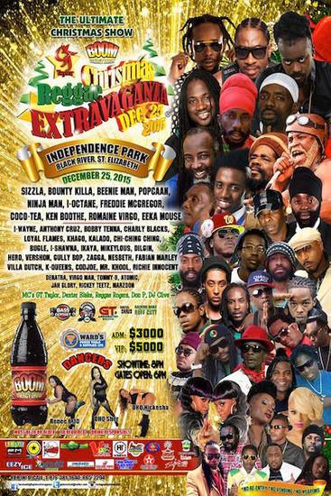 Christmas Reggae Extravaganza 2015