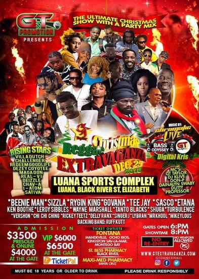 Christmas Reggae Extravaganza 2018