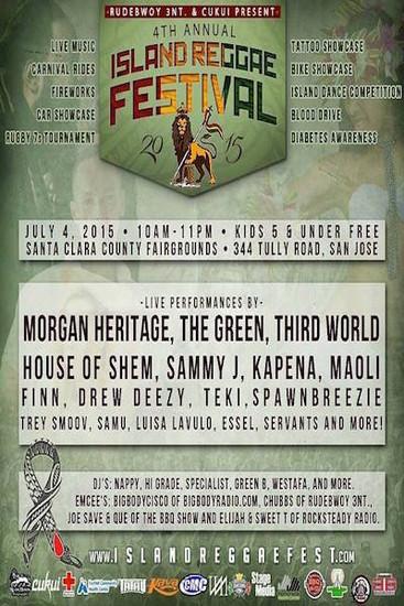 Island Reggae Festival 2015