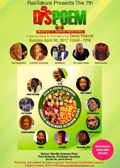 Dis Poem Wordz & Agro Festival 2017