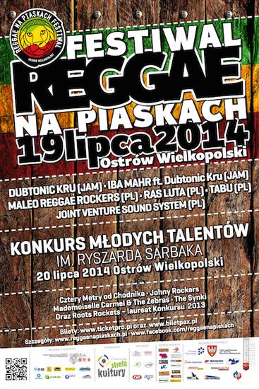Reggae na Piaskach 2014