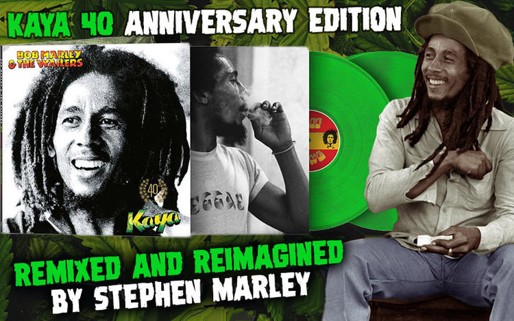 Bob Marley & The Wailers - Kaya 40 Anniversary Edition Remixed by Stephen Marley
