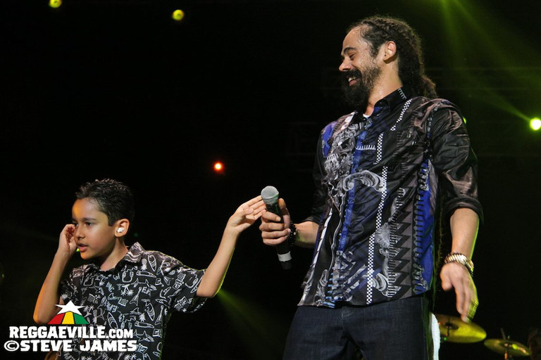 Photos: Damian Marley